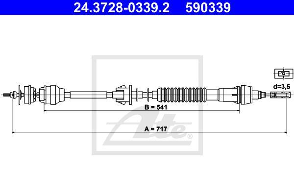 Ilustracja 24.3728-0339.2 ATE linka sprzęgła
