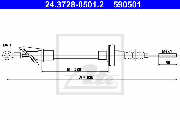 Ilustracja 24.3728-0501.2 ATE linka sprzęgła