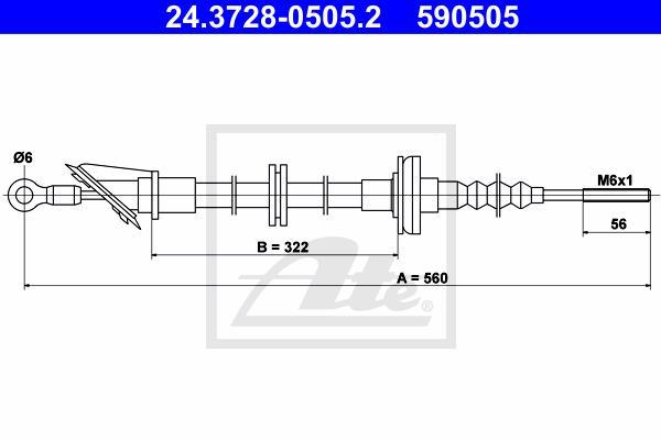 Ilustracja 24.3728-0505.2 ATE linka sprzęgła