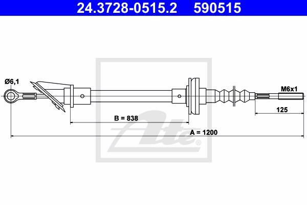 Ilustracja 24.3728-0515.2 ATE linka sprzęgła
