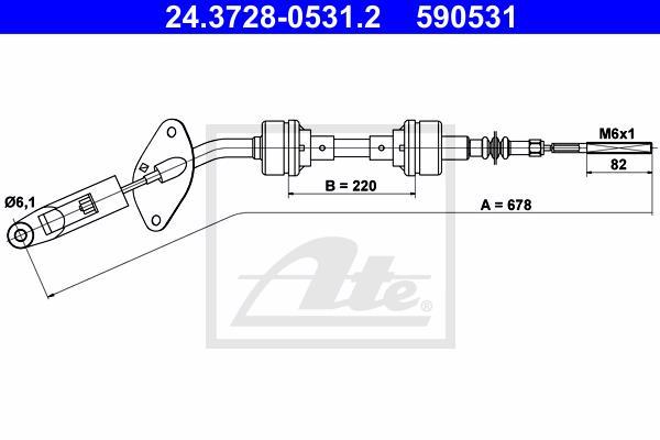 Ilustracja 24.3728-0531.2 ATE linka sprzęgła