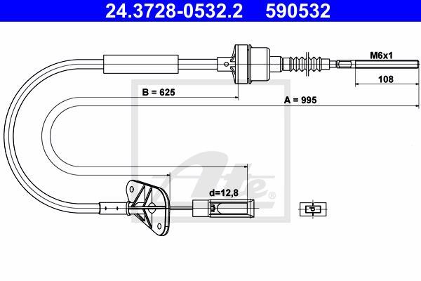 Ilustracja 24.3728-0532.2 ATE linka sprzęgła