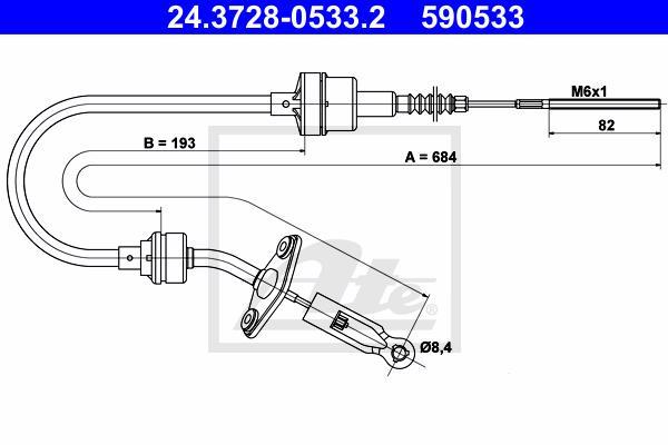 Ilustracja 24.3728-0533.2 ATE linka sprzęgła
