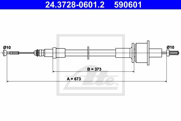 Ilustracja 24.3728-0601.2 ATE linka sprzęgła