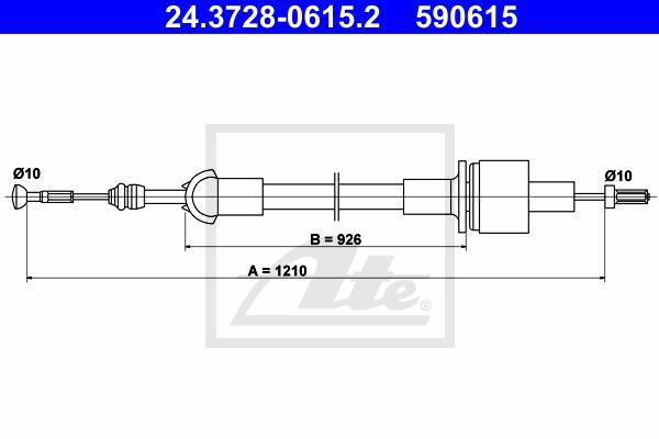 Ilustracja 24.3728-0615.2 ATE linka sprzęgła