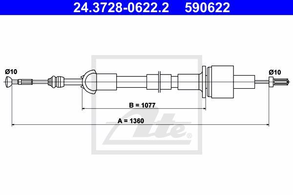 Ilustracja 24.3728-0622.2 ATE linka sprzęgła