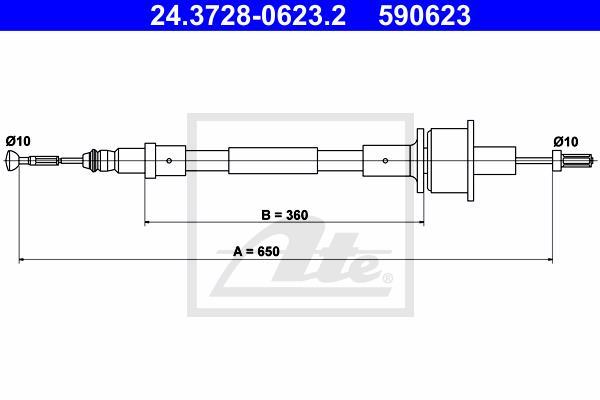 Ilustracja 24.3728-0623.2 ATE linka sprzęgła