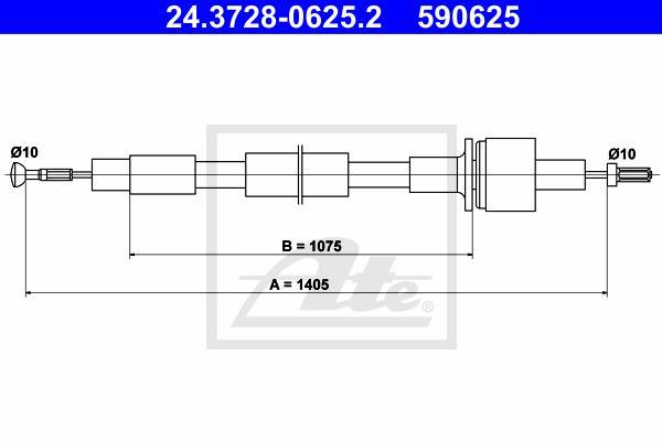Ilustracja 24.3728-0625.2 ATE linka sprzęgła