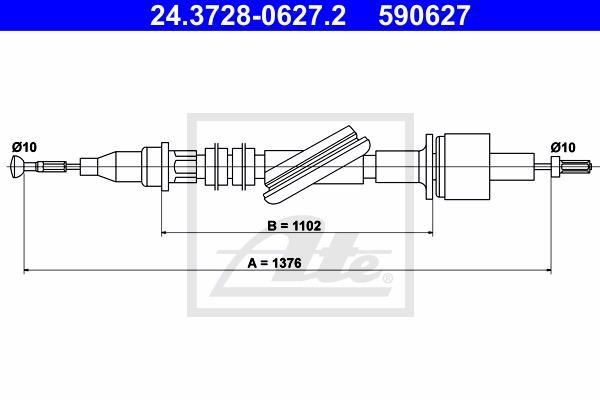 Ilustracja 24.3728-0627.2 ATE linka sprzęgła