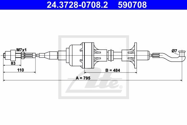 Ilustracja 24.3728-0708.2 ATE linka sprzęgła