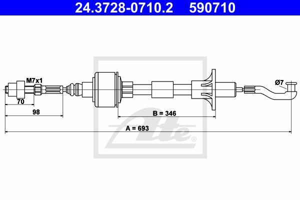 Ilustracja 24.3728-0710.2 ATE linka sprzęgła