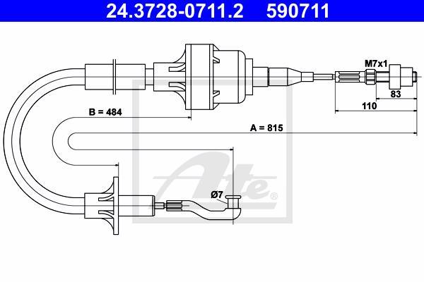 Ilustracja 24.3728-0711.2 ATE linka sprzęgła