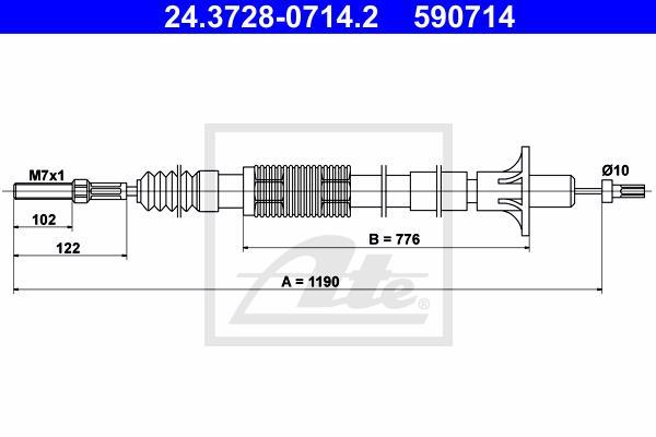Ilustracja 24.3728-0714.2 ATE linka sprzęgła