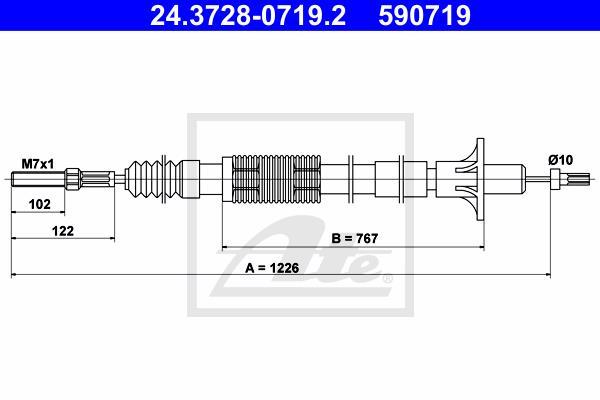 Ilustracja 24.3728-0719.2 ATE linka sprzęgła