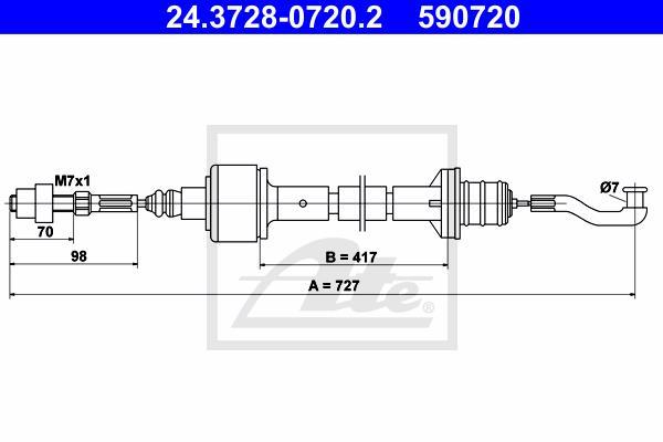 Ilustracja 24.3728-0720.2 ATE linka sprzęgła