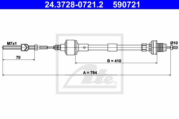 Ilustracja 24.3728-0721.2 ATE linka sprzęgła