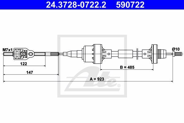 Ilustracja 24.3728-0722.2 ATE linka sprzęgła