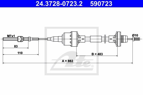 Ilustracja 24.3728-0723.2 ATE linka sprzęgła