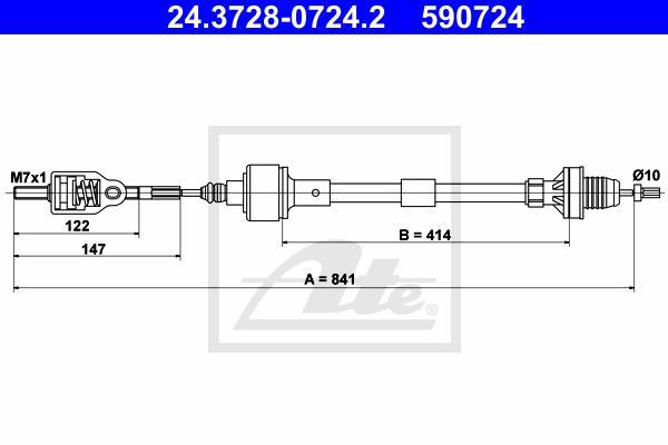 Ilustracja 24.3728-0724.2 ATE linka sprzęgła