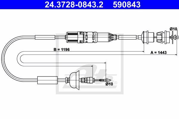 Ilustracja 24.3728-0843.2 ATE linka sprzęgła