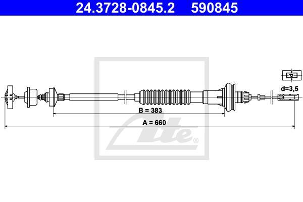 Ilustracja 24.3728-0845.2 ATE linka sprzęgła