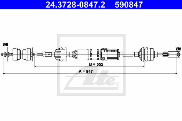 Ilustracja 24.3728-0847.2 ATE linka sprzęgła