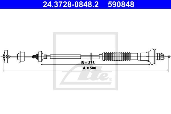 Ilustracja 24.3728-0848.2 ATE linka sprzęgła