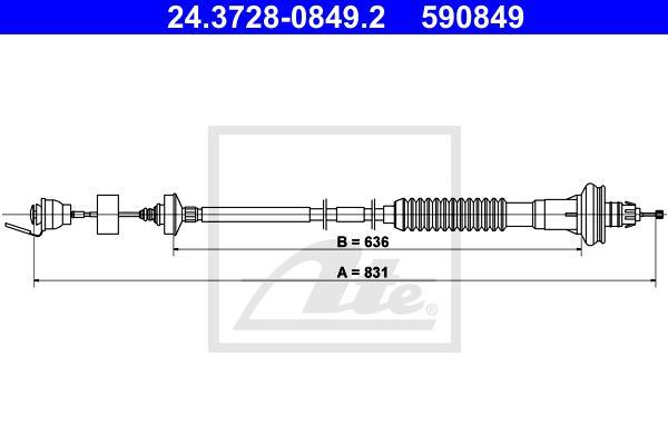 Ilustracja 24.3728-0849.2 ATE linka sprzęgła