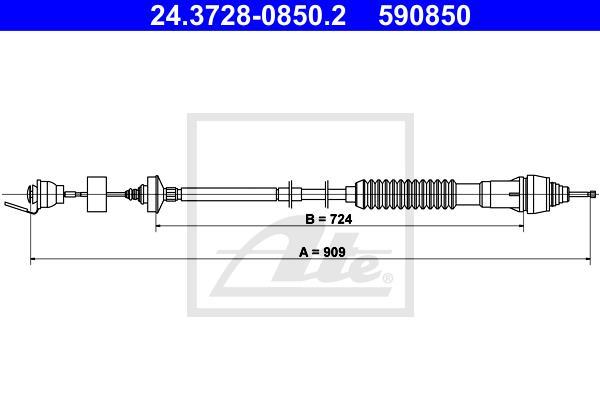 Ilustracja 24.3728-0850.2 ATE linka sprzęgła