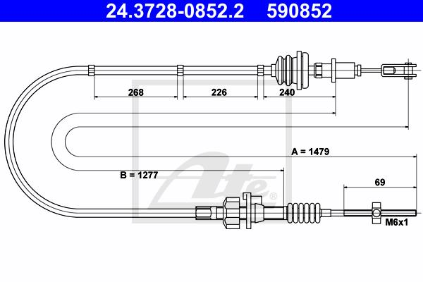 Ilustracja 24.3728-0852.2 ATE linka sprzęgła