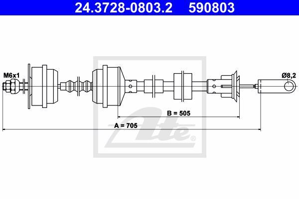 Ilustracja 24.3728-0803.2 ATE linka sprzęgła