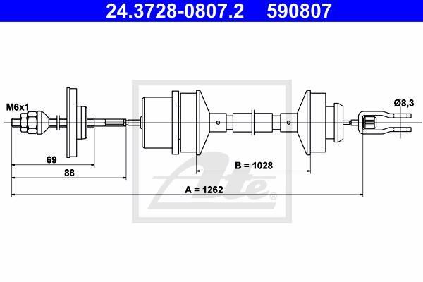 Ilustracja 24.3728-0807.2 ATE linka sprzęgła
