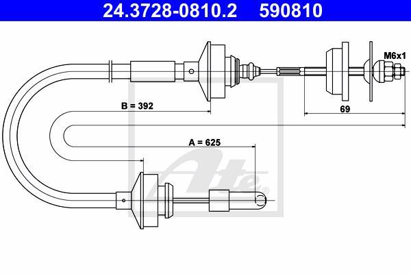 Ilustracja 24.3728-0810.2 ATE linka sprzęgła