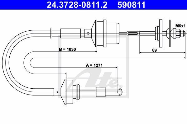 Ilustracja 24.3728-0811.2 ATE linka sprzęgła