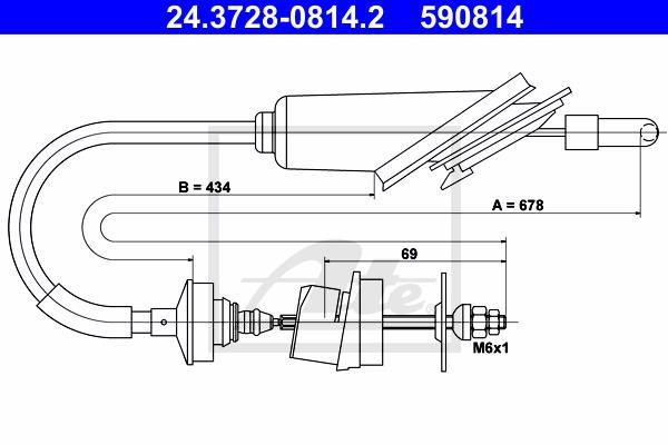 Ilustracja 24.3728-0814.2 ATE linka sprzęgła