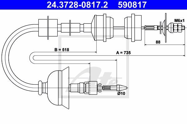 Ilustracja 24.3728-0817.2 ATE linka sprzęgła