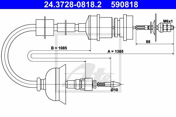 Ilustracja 24.3728-0818.2 ATE linka sprzęgła