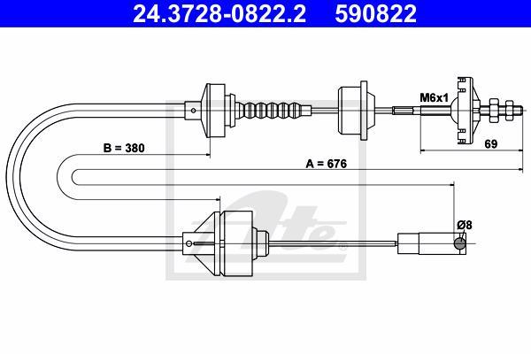 Ilustracja 24.3728-0822.2 ATE linka sprzęgła