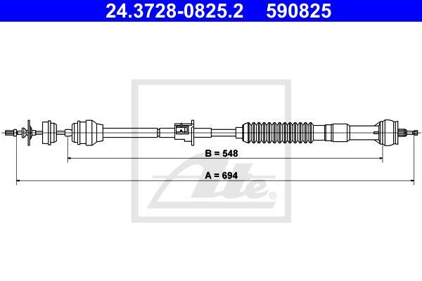 Ilustracja 24.3728-0825.2 ATE linka sprzęgła