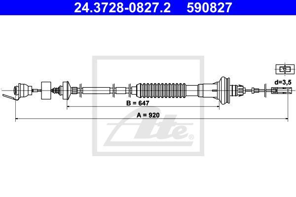 Ilustracja 24.3728-0827.2 ATE linka sprzęgła