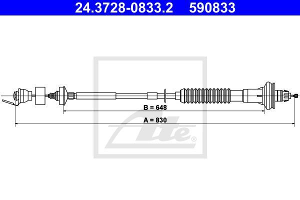 Ilustracja 24.3728-0833.2 ATE linka sprzęgła