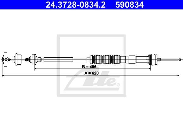 Ilustracja 24.3728-0834.2 ATE linka sprzęgła