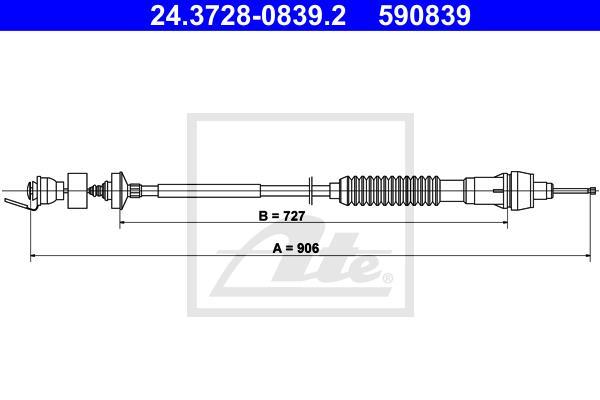Ilustracja 24.3728-0839.2 ATE linka sprzęgła