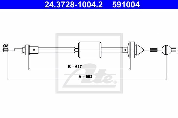 Ilustracja 24.3728-1004.2 ATE linka sprzęgła