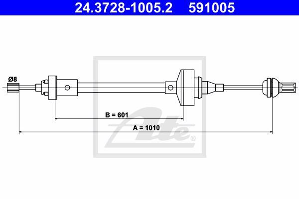 Ilustracja 24.3728-1005.2 ATE linka sprzęgła