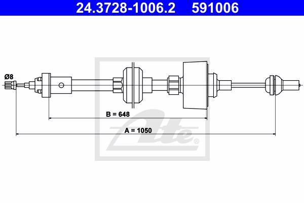 Ilustracja 24.3728-1006.2 ATE linka sprzęgła