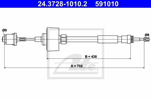 Ilustracja 24.3728-1010.2 ATE linka sprzęgła