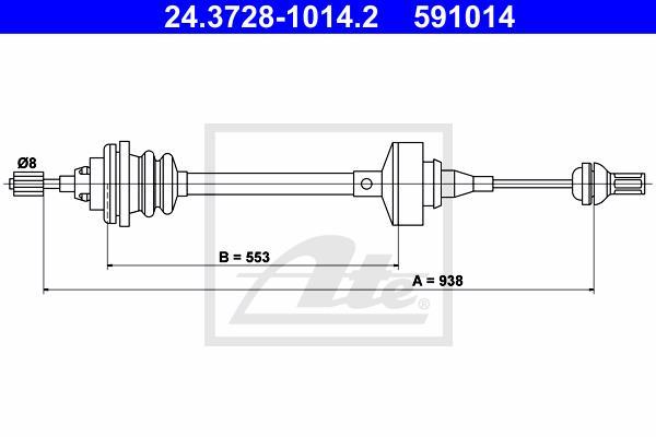 Ilustracja 24.3728-1014.2 ATE linka sprzęgła