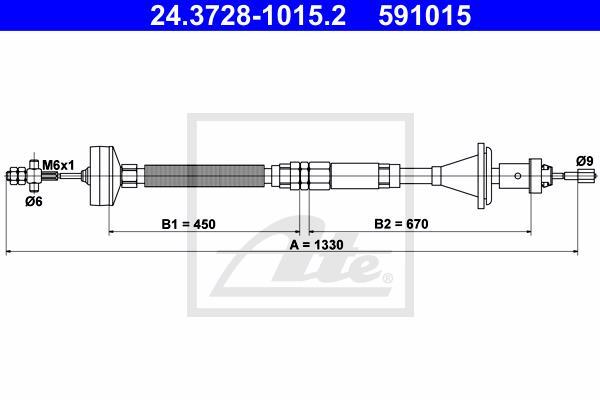Ilustracja 24.3728-1015.2 ATE linka sprzęgła