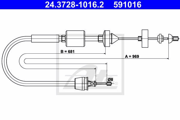 Ilustracja 24.3728-1016.2 ATE linka sprzęgła